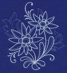 Snowy Edelweiss Filigree