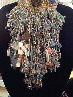 Bead My Love - amazing neckpiece at their booth #NYC