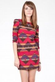 Sahara Sun Sweater Dress