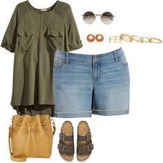 plus size sunday out/tunic style