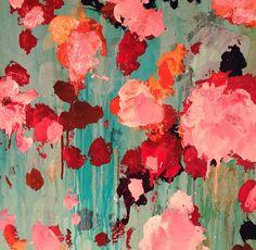 ..abstract art by sonja blaess...petit jardin...2016...