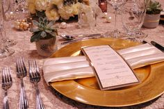 Gold, Ivory, and Cappuccino Lace. #yyceventrentals www.greateventsrentals.com