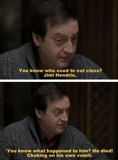 Freaks and Geeks quotes about Jimmie Hendrix