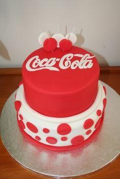 Fondant Coca-Cola Cake