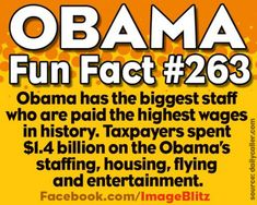 """The spend a lot, one man disaster, monumental mistake, """"I got a phone and a pen"""" worst US President in history !"""