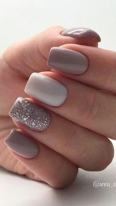 Spring gel nails are beautiful and elegant. They are suitable for many sets, especially for the spring looks. Spring gel nails are beautiful and elegant. Chic Nails, Stylish Nails, Trendy Nails, Sns Nails Colors, Gel Nails, Nail Polish, Nail Nail, Shellac, Best Acrylic Nails