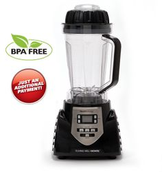 Montel Juicer HealthMaster Elite : The HealthMaster Elite new Montel Williams Living Well HealthMaster blender has more power and BPA-Free pitcher.