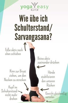 Asana des Monats: Sarvangasana – der Schulterstand This is how you practice the yoga exercise shoulderstand / sarvangasana. Tips, effects and instructions for the asana. Related Best Yoga Poses for MenMy liver cure. Pilates Abs, Pilates Workout, Yoga Routine, Asana, Fitness Del Yoga, Easy Fitness, Yoga Am Morgen, Easy Yoga, Power Yoga