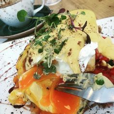 Titirangi has grown up - check out the in the old hotel - Turkish inspired - beautiful, fresh and divine haloumi bene with tomato salsa. Thanksgiving Recipes, Holiday Recipes, Dinner Recipes, Family Meals, Side Dishes, Vegan Recipes, Brunch, Goodies, Appetizers