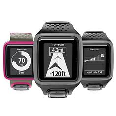 Holiday Tech Gifts Active Women Will Love: Whether you're racing against past runs or pursuing a time- or distance-based goal, TomTom's Runner watch will track stats (miles, pace, strides and calories burned) in style. ($170; tomtom.com)