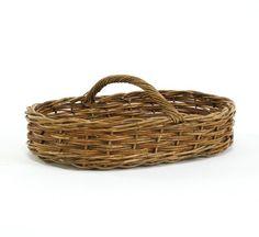 Cottage Rattan Biscuit Basket
