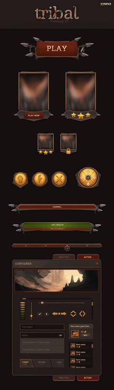 Tribal UI by Evil-S on DeviantArt
