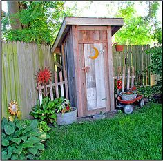 Outhouse Garden Shed (LOL)