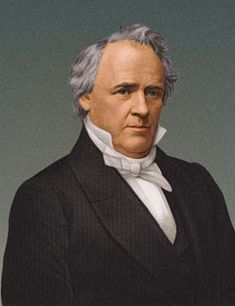 James Buchanan (23/4/1791 - 1/6/1868) was the 15th President of the United States (4/3/1857 - 4/3/1861)