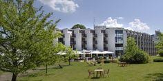 Der Hotelgarten im Parkhotel Brunauer: ruhig und erholsam mitten in der Stadt Salzburg