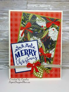 """Atlantic Hearts Sketch Challenge """"Tis The Season, Christmas Card, Sapphire and Gold, CTMH Christmas Holidays, Christmas Crafts, Christmas Ideas, Heart Sketch, Scrapbook Pages, Scrapbooking, Heart Cards, Close To My Heart, Xmas Cards"""