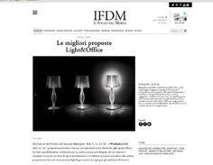 Liza by Elisa Giovannoni on IFDM Il Foglio del Mobile April 2015