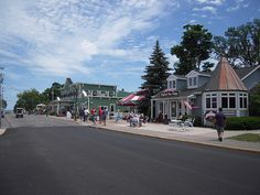 Downtown Put in Bay, Ohio by RetroRed, via Flickr