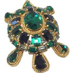 Roger Jean Pierre Depose France huge and Amazing Turtle pin