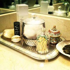 Bathroom vignette