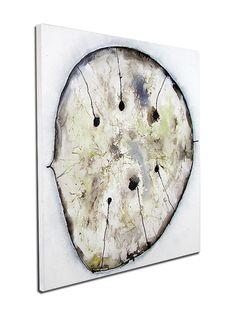 Abstrakte Kunst kaufen: Silberblatt