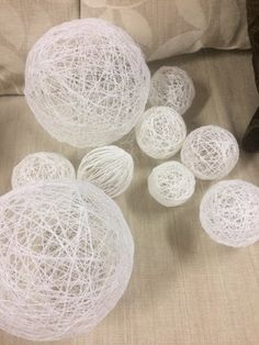 Kreatív Anyabanya: Karácsonyi gömb készítése házilag