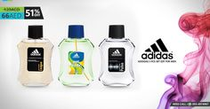 Offer Price - 66AED Only - Original Price 139AED Addidas 3 Pcs Set EDT For Men Call us on 04-2557761
