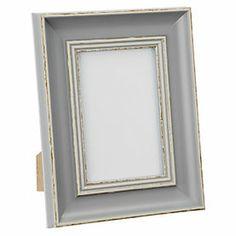 by Sainsbury's Grey Wood-effect Frame 4x6