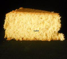 Bizcocho o bizcochuelo clasico tradicional ~ Pasteles de colores