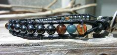 Dragon Eye Handmade Men's Amulet Bracelet  by OffOnAWhimJewelry, $24.00