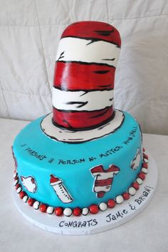 Oh My ... So Many Fabulous Dr. Seuss Cakes To Choose From! Dr Seuss Baby  ShowerCakes ...