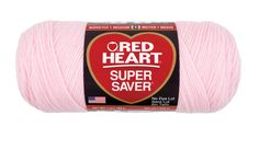 Staycation colour choices: Baby Pink Super Saver Economy Yarn   Red Heart