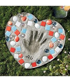 heart of the garden stepping stone, love this