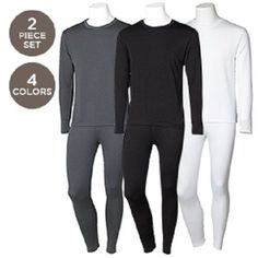0f35ad1a31c7 Details about Mens 2PC Thermal Underwear Set Top Bottom Long John Waffle New  Johns Pants New