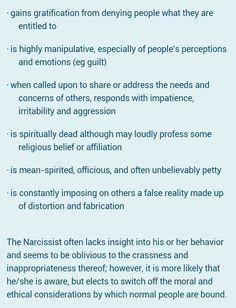 Karin's World blog Narcissistic Sociopath Part 5- my mother
