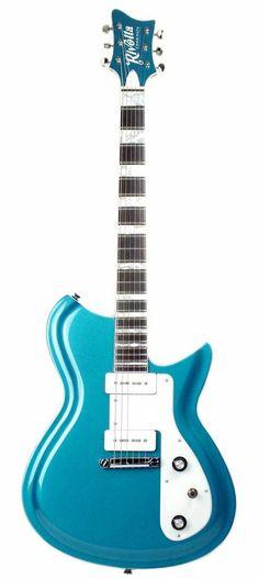 Combinata 6 string electric guitar by Rivolta Guitars.