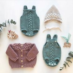 Trendy Knitting Baby Clothes For Girls 41 Ideas Baby Knitting Patterns, Knitting For Kids, Stitch Patterns, Knitted Baby Clothes, Boho Baby, Little Babies, Baby Dress, Crochet Baby, New Baby Products