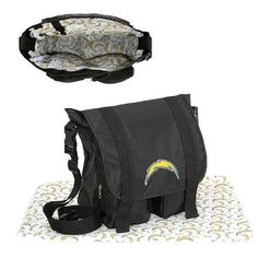 San Diego Chargers NFL Sitter Baby Diaper Bag https://www.fanprint.com/licenses/air-force-falcons?ref=5750