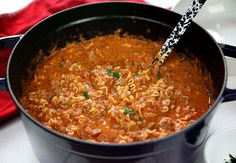 Seriously the best! Once you try this Lasagna Soup you will be hooked. it's easy and so satisfying Gourmet Recipes, Crockpot Recipes, Soup Recipes, Cooking Recipes, Healthy Recipes, Lasagna Recipes, Crockpot Lasagna Soup, Freezer Recipes, Dinner Recipes