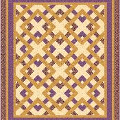 Garden Maze quilt - via @Craftsy