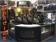 ¡Muchas Gracias! De parte de todos los que formamos el equipo EMS Mexico y EMS Táctico, estamos a pocas horas de terminar Expo Seguridad Mexico por lo que decidimos anticipar y agradecer su valiosa visita :)   #SoyEMS #Soy511 #EMSMexico #EquipandoALosProfesionales #EMSTactico #Funcionalidad_24_7