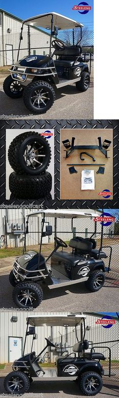 Other Golf Accessories 1514: Ezgo Txt Electric Golf Cart 6 Lift Kit + 12 Wheels And 23 All Terrain Tires -> BUY IT NOW ONLY: $674 on eBay!