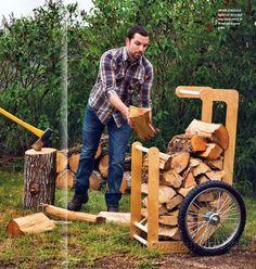 3199-Firewood Cart Plans