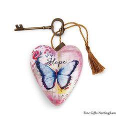 Studio by Demdaco Art Heart - Hope Sculptured Art Hearts 1003480070 #HopeArtHeart #StudioByDemdeco #FineGiftsNottingham