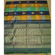 Kanchipuram Pure Silk Saree (KNC-VKM-007)
