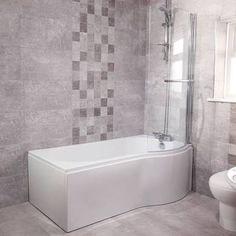 p shaped bath - Google Search