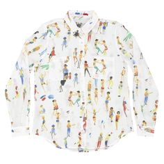 Many People - Printemps été 2017 Femme, Chemises en coton soie - G.KERO