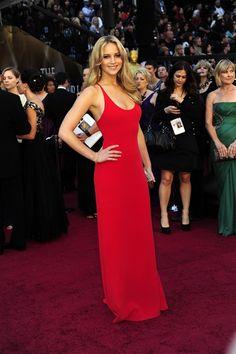 Jennifer Lawrence Oscars 2011: Calvin Klein