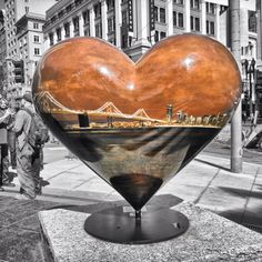 Hearts in SF--Union Square, March 2012 ~ Ʀεƥɪииεð вƴ╭•⊰✿ © Ʀσxʌиʌ Ƭʌиʌ ✿⊱•╮