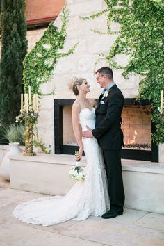 If you are dreaming of something intimate and romantic, you will fall for this restaurant courtyard wedding captured byLori Blythe Photography. This couple chose to have a cocktail reception with close family and friends at a local restaurant with the dreamiest courtyard, with their outdoor fireplace as the perfect altar. Tanner and I both live …